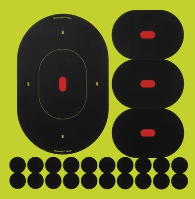 Birchwood Casey 34905 Shoot-N-C Targets 5 Pack