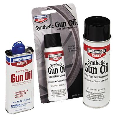 Birchwood Casey 44128 Gun Oil Synthetic  4.5 oz