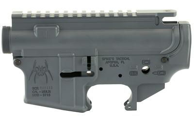 SPIKE'S STRIPPED UPPER/LOWER SET GRY