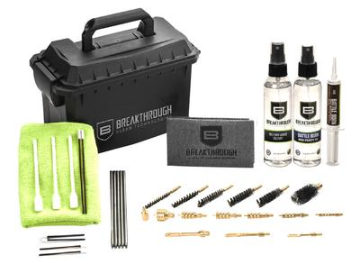 Breakthrough Clean Ammo Can Cleaning Kit  .22 Cal to 12 Ga 31