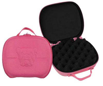 BULLDOG PINK MOLDED NYLON PSTL CASE