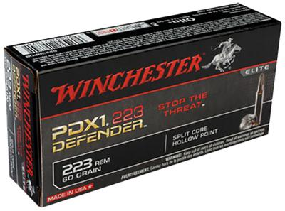 WIN DEFENDER 223REM 60GR HP 20/200