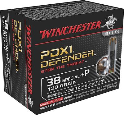 WIN DEFENDER 38SPL+P 130G JHP 20/200