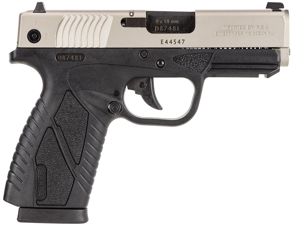Bersa Bp9dtcc Bpcc Concealed Carry Dao 9mm 3.3
