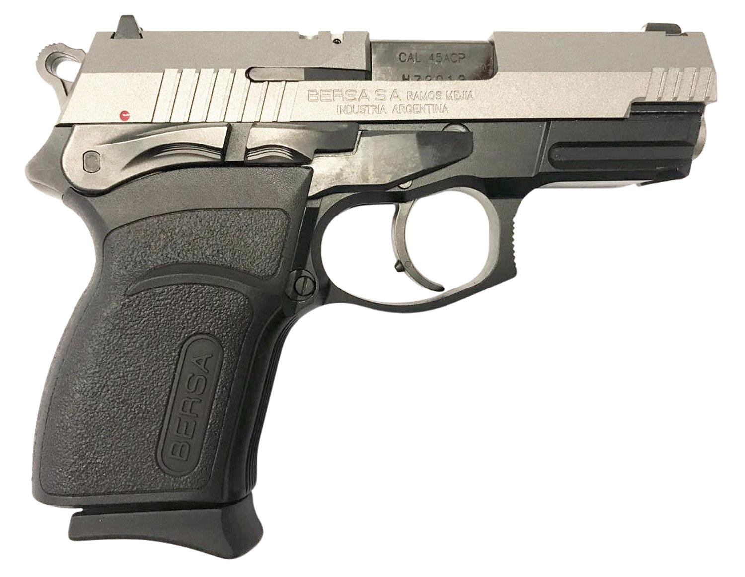 Bersa Tpr45cdt Thunder Pro Compact Single/Double 45 Automatic Colt Pistol (Acp) 3.6