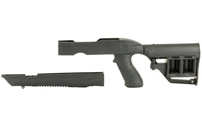 Adaptive Tactical 1081054 Tac-Hammer RM4 Ruger 10/22 Takedown Rifle Stock Polymer Black