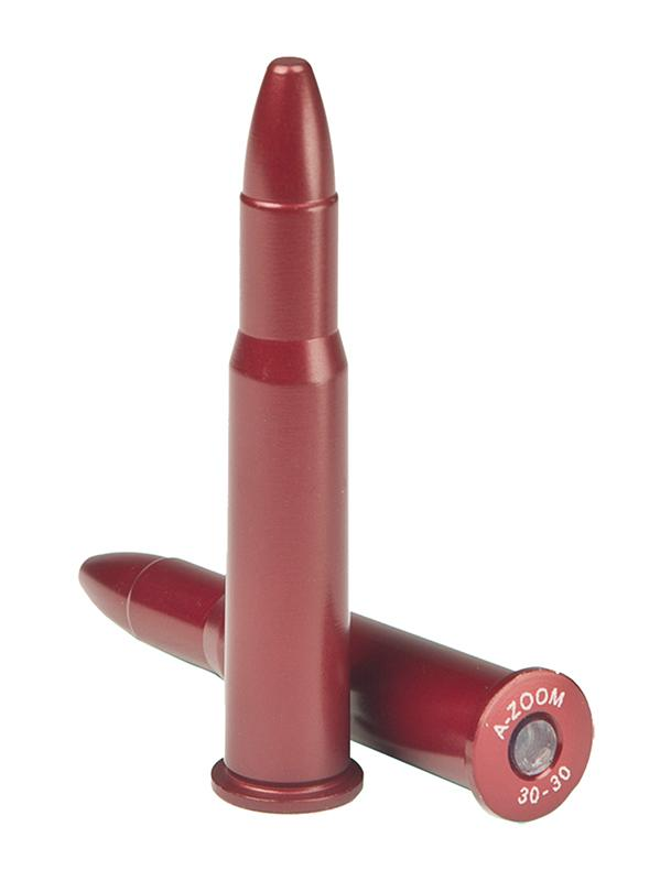 A- Zoom 12229 Snap Caps Rifle 30- 30 Winchester Aluminum 2