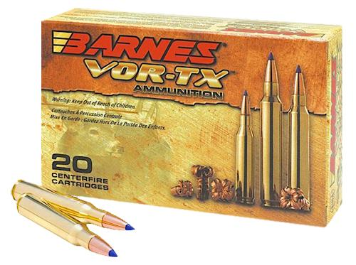 Barnes 21537 Vor- Tx 300 Winchester Mag 165gr Tipped Tsx Boat Tail 20box/10case