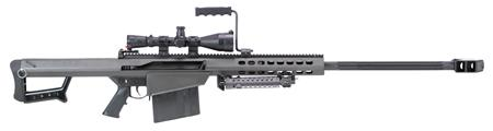 Barrett 13317 M82 A1 With Scope Semi- Automatic 50 Browning Machine Gun (Bmg) 29