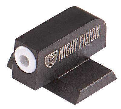 Night Fision CNK025001WGX Night Sight Front Square Top Century Canik TP9SFx/TP9SFL Green Tritium w/White Outline Black