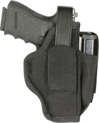 Blackhawk 40AM06BK  Ambi Sz 06 w/Mag Pouch Fits Belts to 1.75