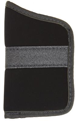 Blackhawk 40PP02BK Inside The Pocket Holster Suede Black