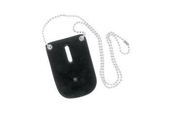 SL 7352 BADGE HOLDER W/NECK CHAIN