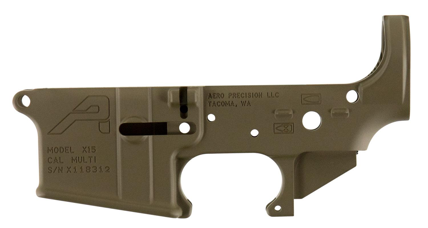 Aero Precision Apar501302c Ar- 15 Stripped Lower Receiver Gen2 223 Remington/5.56 Nato Flat Dark Earth Cerakote