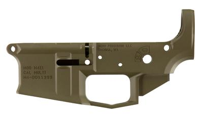 Aero Precision APAR600002C M4E1 Stripped Lower Receiver AR-15 Platform 223 Remington/5.56 NATO Flat Dark Earth Cerakote