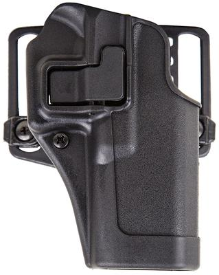 Blackhawk 410501BKL Serpa CQC Concealment LH Matte Finish 01 Glock 23/26/27 Polymer Black