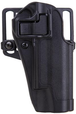 Blackhawk 410503BKR Serpa CQC Concealment Polymer Matte Black Finish