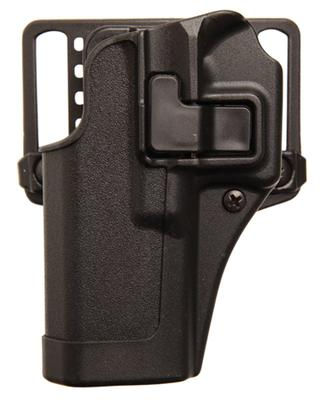 Blackhawk 410508BKR Serpa CQC Concealment RH Matte Finish 3.9