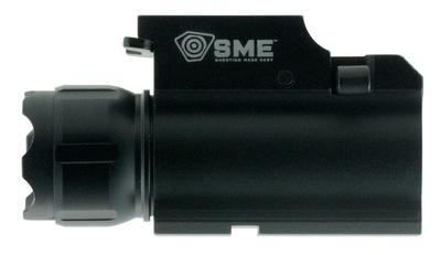 SME SMEWL Compact Tactical Handgun Light 250 Lumens CR123 Black