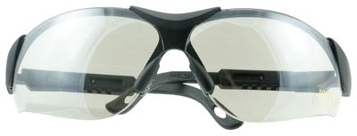 Walkers Game Ear GWPXSGLICE Shooting Glasses Elite Polycarbonate Gray Lens Black