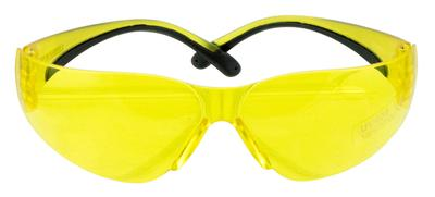 Walkers Game Ear GWPYWSGYL Shooting Glasses Youth & Women Polycarbonate Yellow Lens Black