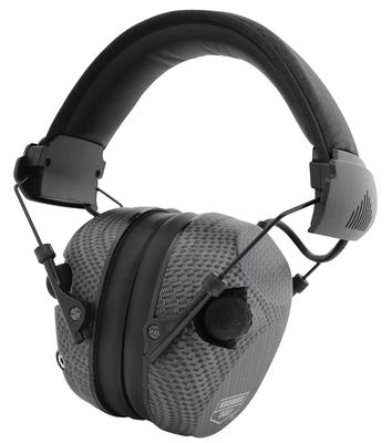 Birchwood Casey 43250 eKrest Electronic Earmuff 26 dB Black Carbon Fiber