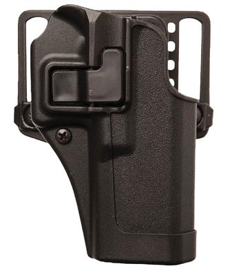 Blackhawk 410563BKR Serpa CQC Concealment RH Matte Finish S&W Shield Polymer Black