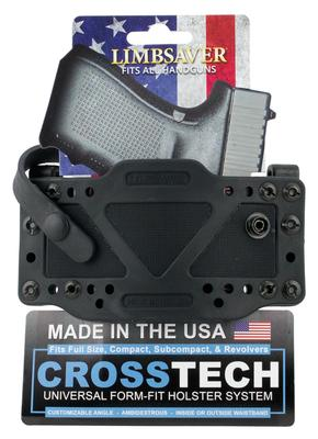 Limbsaver 12504 CrossTech Clip-on Holster with Secure Strap Black