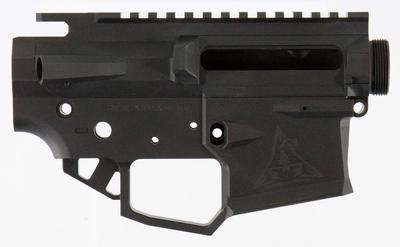 Rise Armament RPR1BLK Ripper AR15 Receiver 223 Remington/5.56 NATO Black Hardcoat Anodized