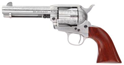 Taylors and Company 710AWE 1873 Cattleman Floral Engraved Single 45 Colt (LC) 4.75