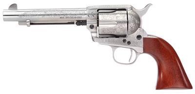 Taylors and Company 713AWE 1873 Cattleman Floral Engraved Single 357 Magnum 5.5