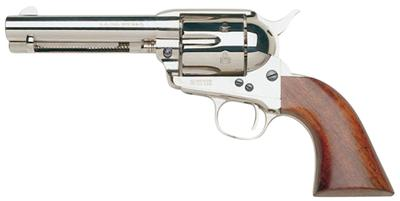 Taylors and Company 555121 1873 Cattleman Nickel Single 45 Colt (LC) 4.75