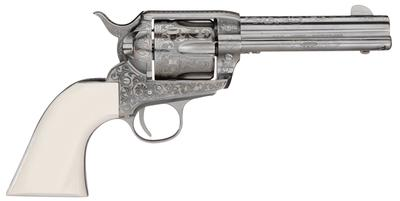 Taylors and Company OG1402 1873 Cattleman Outlaw Legacy Engraved Single 45 Colt (LC) 4.75