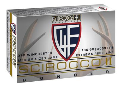 Fiocchi 270SCA Extrema Hunting 270 Winchester 130 GR Spitzer Boat Tail 20 Bx/ 10 Cs