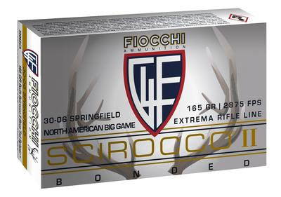 Fiocchi A3006SCA Extrema 30-06 Springfield 165 GR Spitzer Boat Tail 20 Bx/ 10 Cs