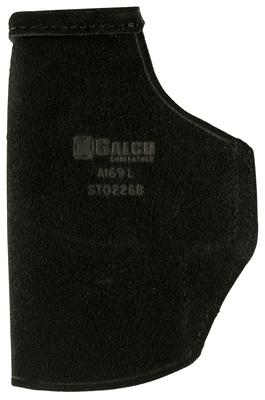 Galco STO227B Stow-N-Go Inside The Pants Glock 19 Steerhide Center Cut Black