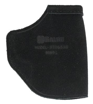 Galco STO653B Stow-N-Go Inside The Pants  S&W M&P Shield/2.0 9/40 LH Steerhide Center Cut Black