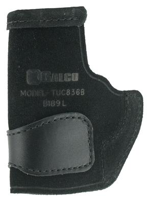 Galco TUC836B Tuck-N-Go Inside The Pants Ruger LCP II Steerhide Center Cut Black