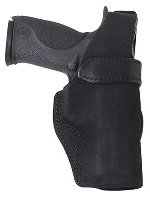 Galco W2800B Wraith 2 Belt/Paddle Holster Glock 43 Steerhide Center Cut/Plastic Black