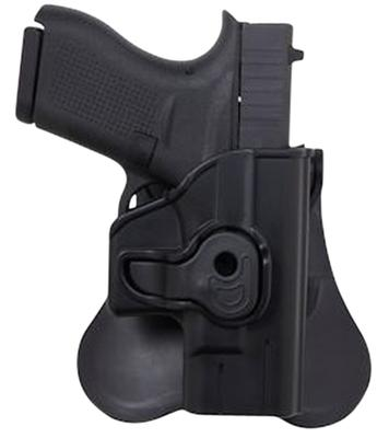 Bulldog PSWMPC Pistol Polymer Holster Fits Most Compact Autos w/2.5
