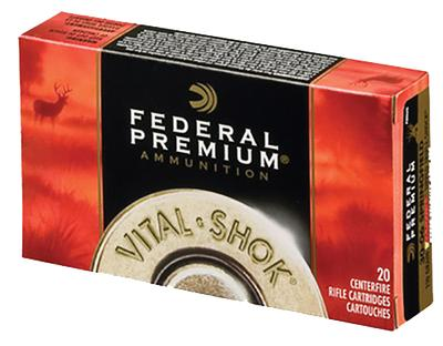 Federal P308S Vital-Shok 308 Win/7.62 NATO Nosler Partition 150 GR 20Box/10Case