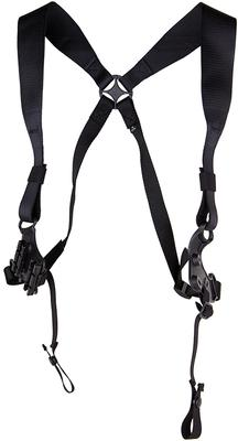 Blackhawk 41SH00BK Serpa Shoulder Harness Medium Black Nylon