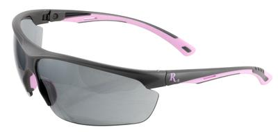 Remington Wiley X RE600 Eye Protection Gray/Pink Frame Smoke Gray Lenses