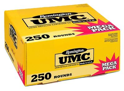 Remington Ammunition L40SW3A UMC 40 S&W Metal Case 180 GR 250Box/4Case