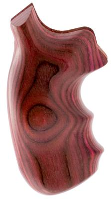 Hogue 48500 Detective Special Finger Groove Grip Laminated Rosewood