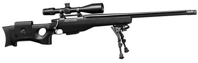 CZ USA 308 Winchester Bolt Action Sniper Rifle w/Blue Barrel & Synthetic Stock