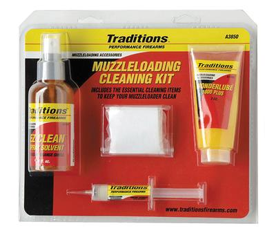 Traditions A3850 Basic Cleaning Kit EZ Clean Cleaning System Muzzleloaders