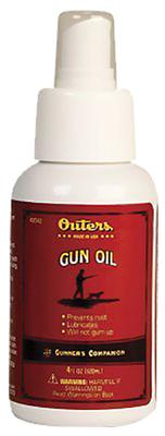 Outers 42042 Gun Oil Cleaning Lube/Oil Lubricant 4 oz