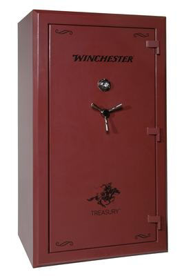 Winchester Safes TR724014E Treasury Gun Safe Burgundy