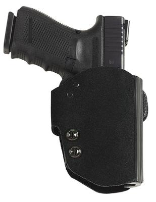Galco BG286B Blakguard Belt Holster Compact Glock 26 Steerhide Center Cut Blk